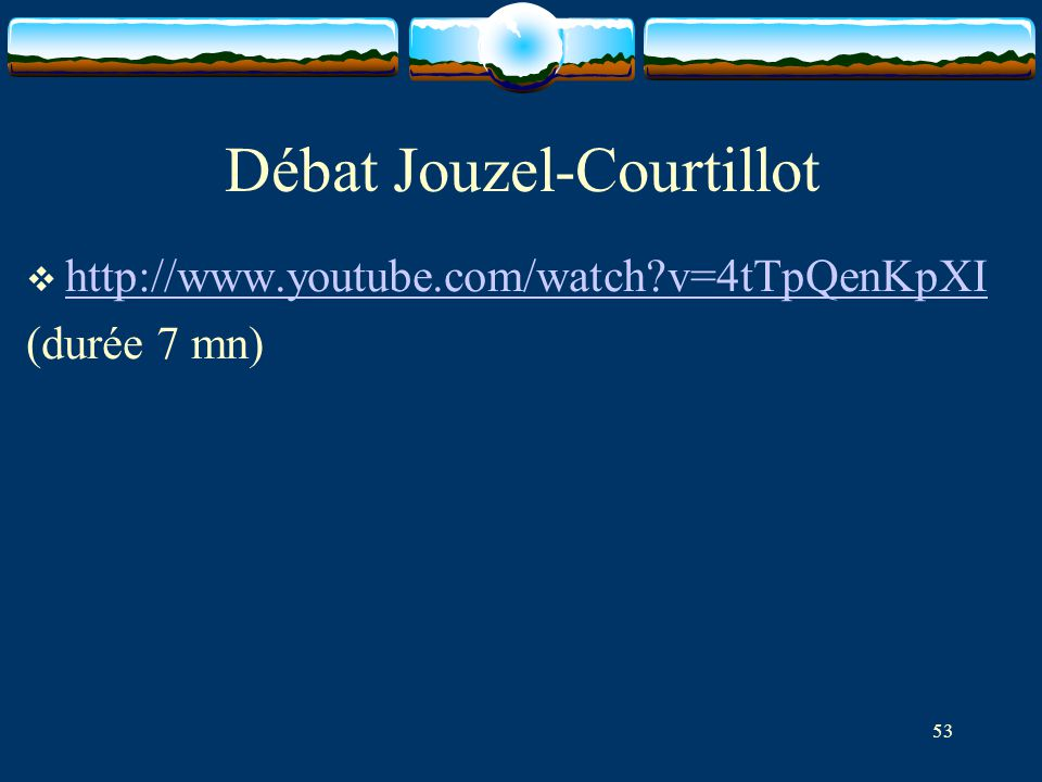 Débat Jouzel-Courtillot