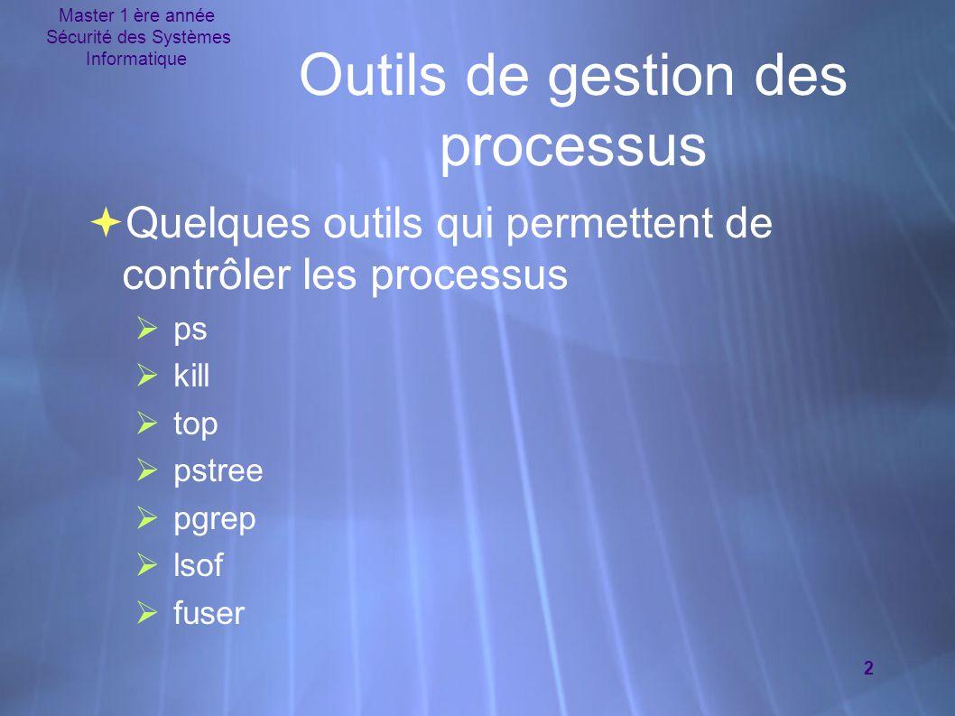 Outils de gestion des processus