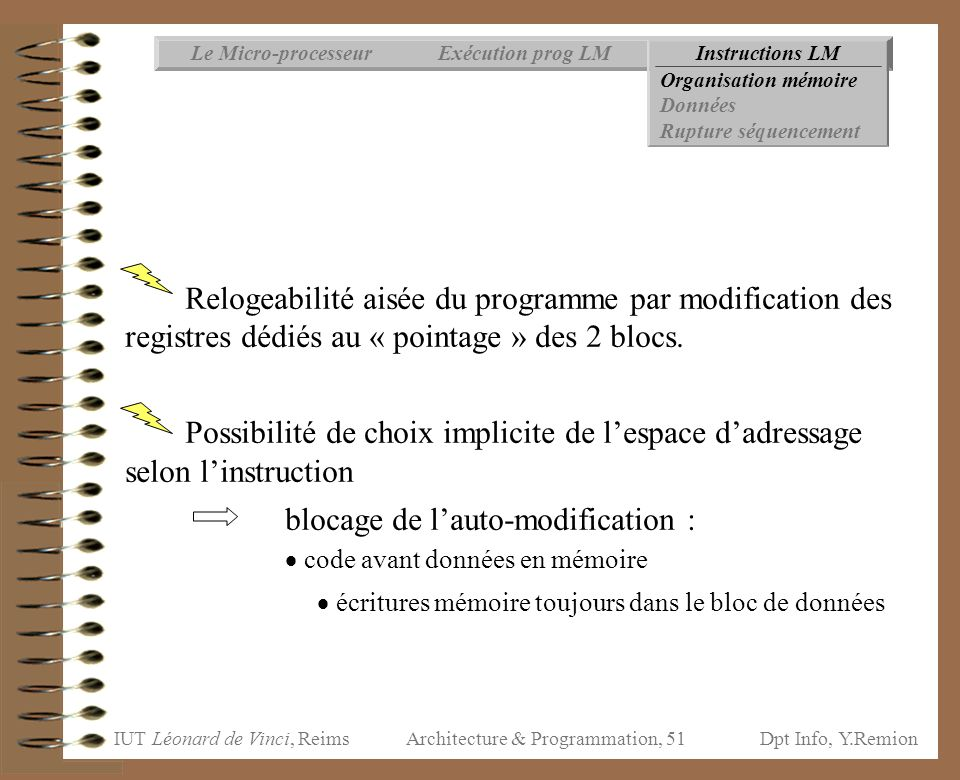Architecture & Programmation, 51
