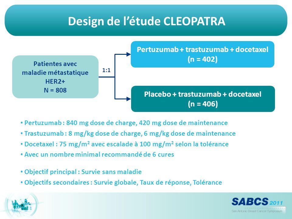 Design de l'étude CLEOPATRA
