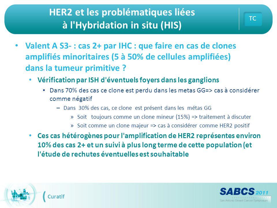 HER2 et les problématiques liées à l Hybridation in situ (HIS)