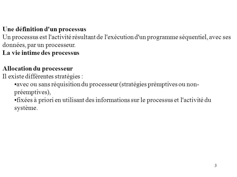 Une définition d un processus