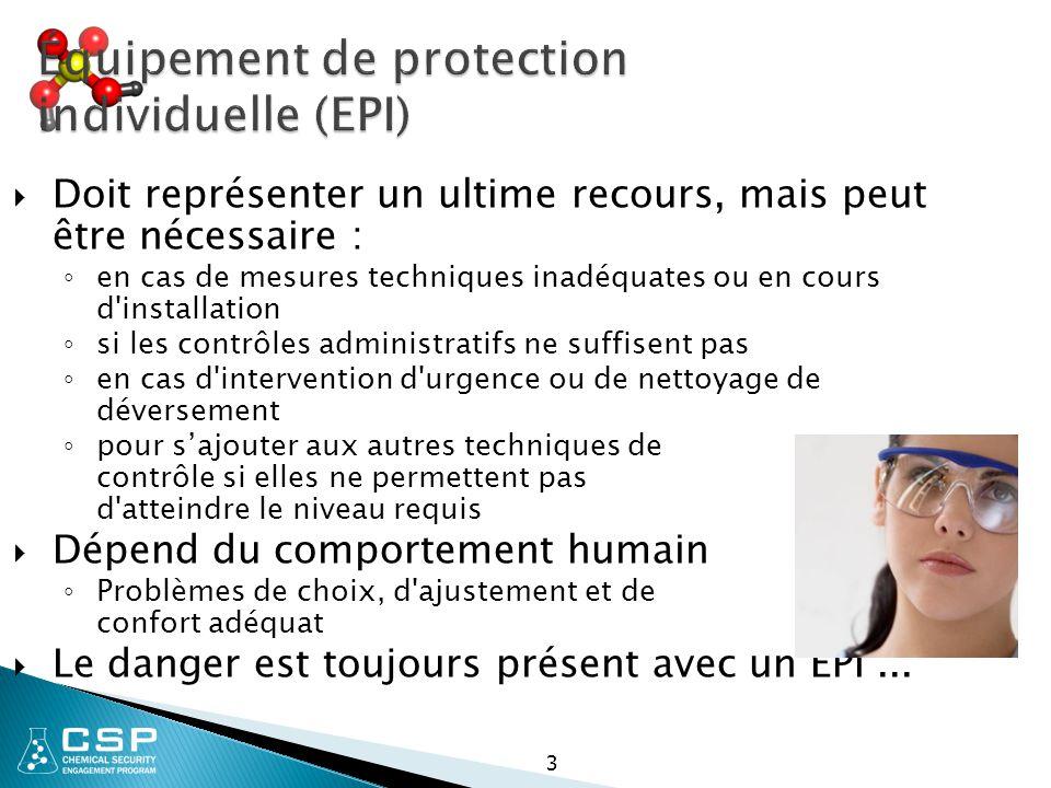 Équipement de protection individuelle (EPI)