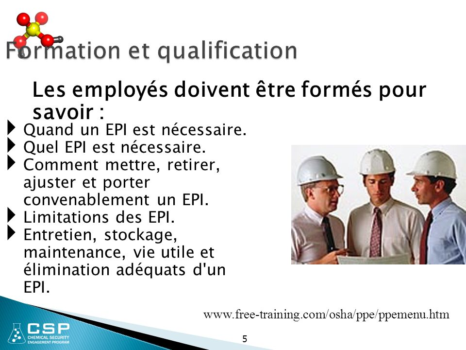 Formation et qualification