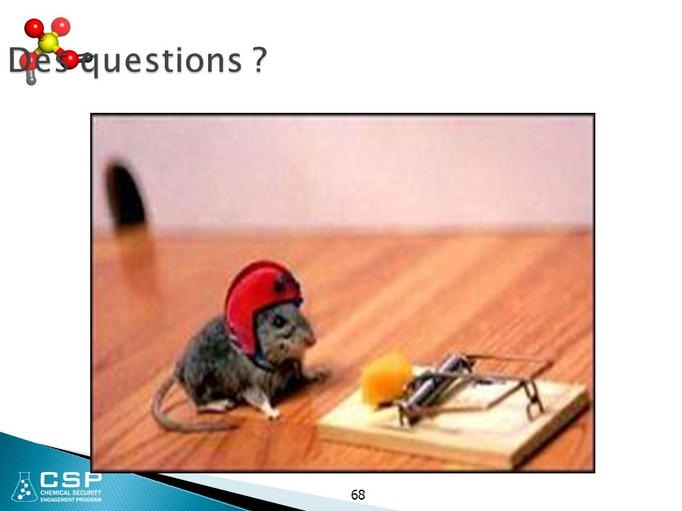 Des questions 68