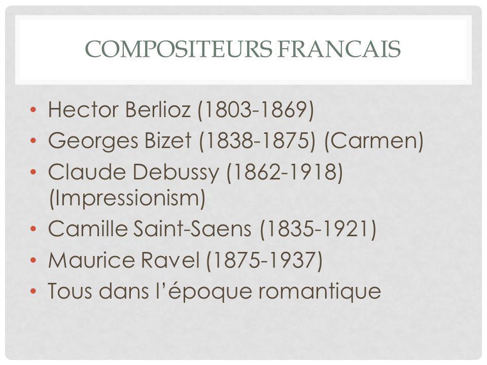 Compositeurs francais