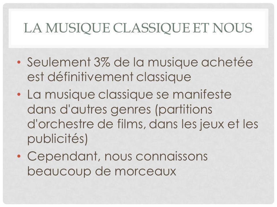 La musique classique et nous