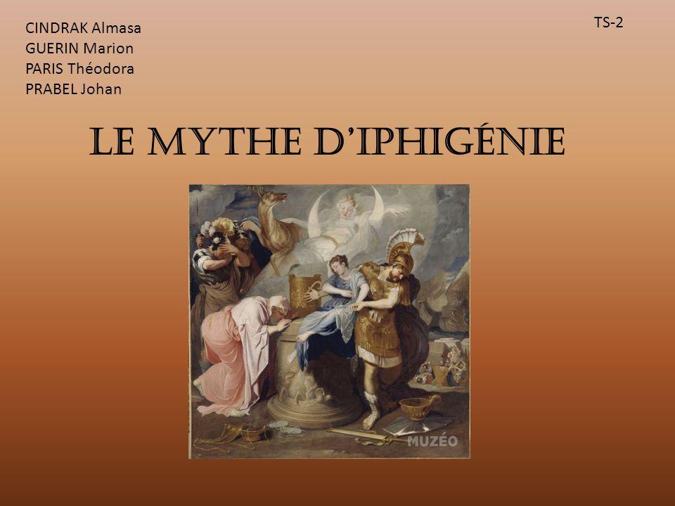 Le mythe d'Iphigénie TS-2 CINDRAK Almasa GUERIN Marion