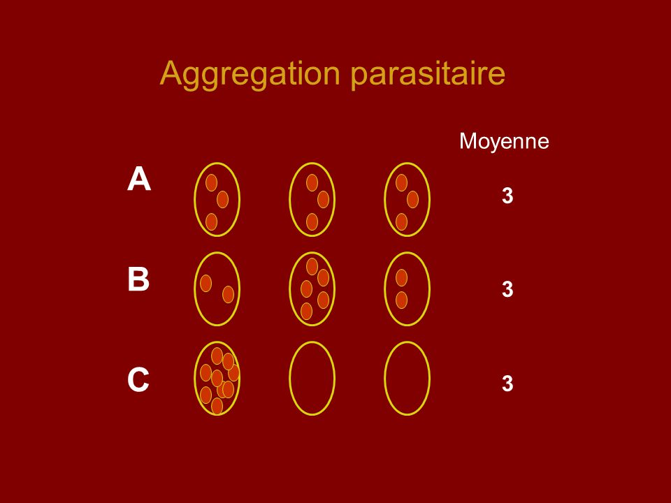Aggregation parasitaire
