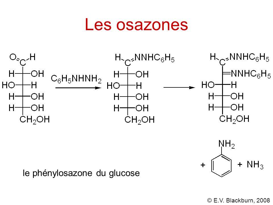 Les osazones le phénylosazone du glucose