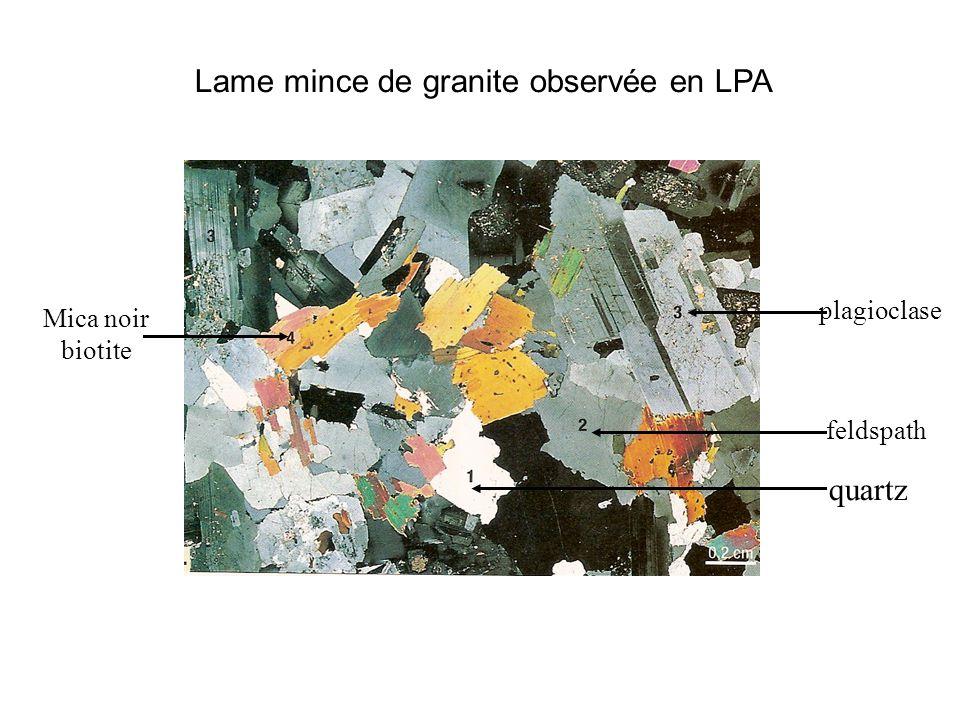 Granite : roche de la croûte continentale - ppt video online ...