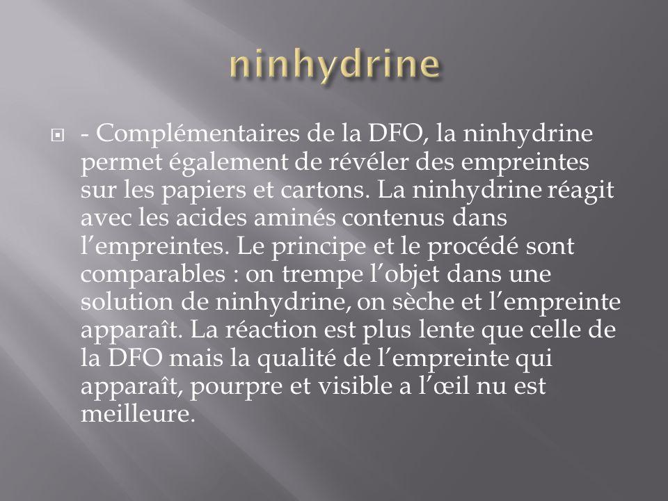 ninhydrine