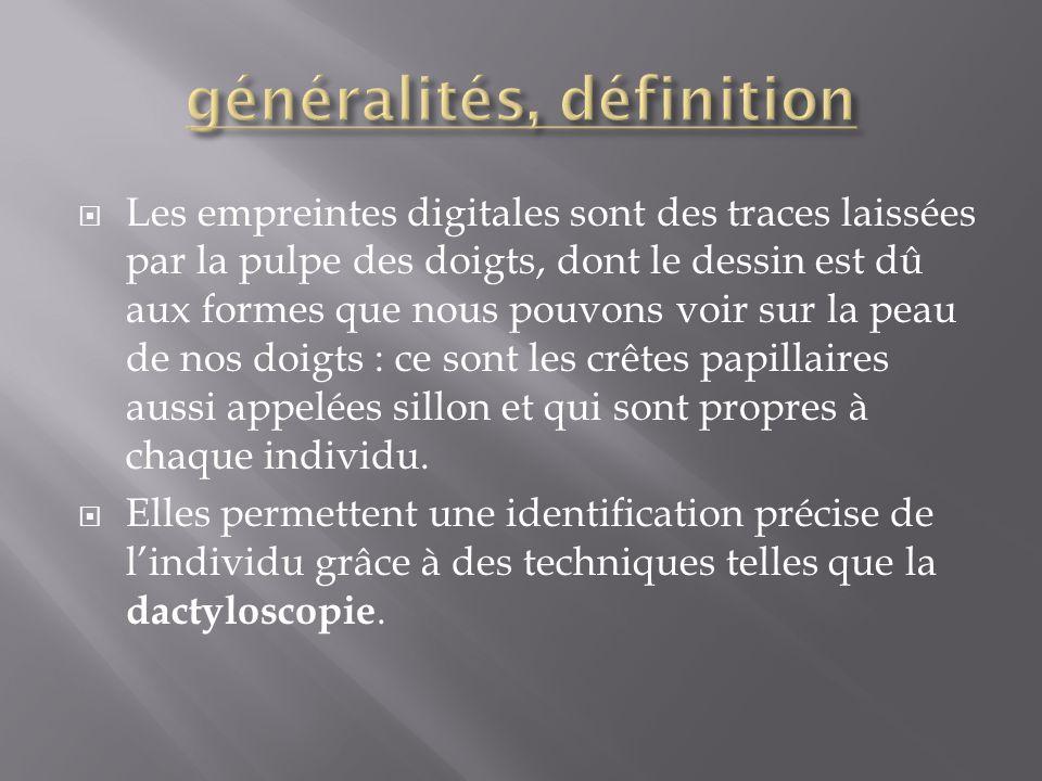 généralités, définition