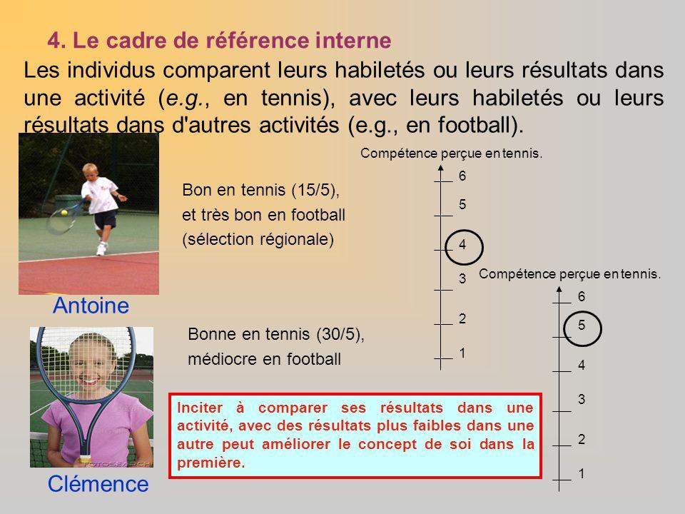4. Le cadre de référence interne