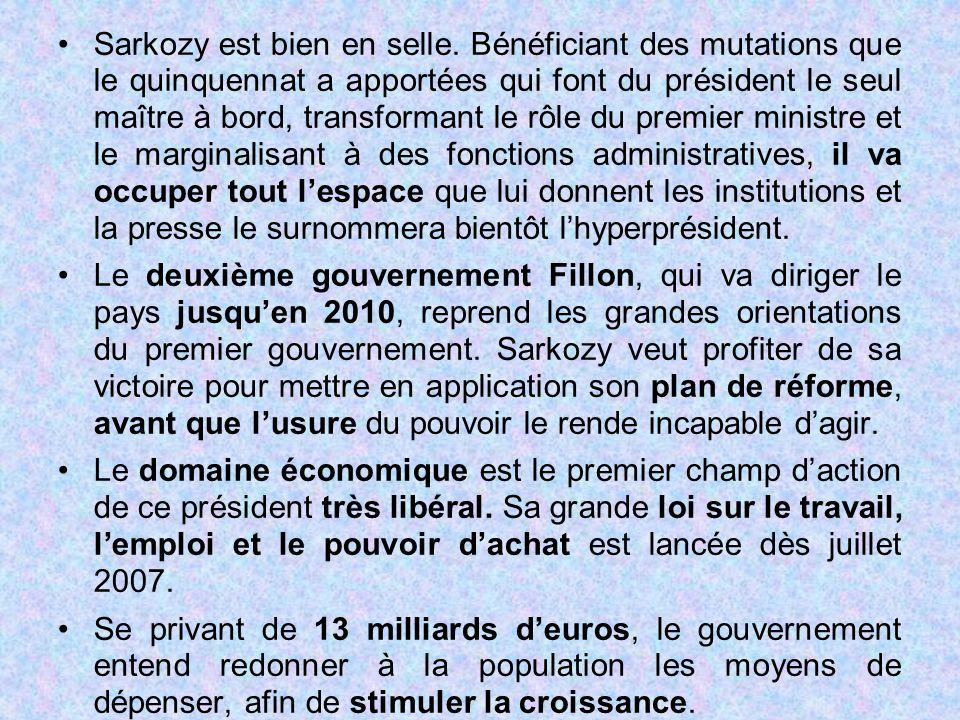 Sarkozy est bien en selle
