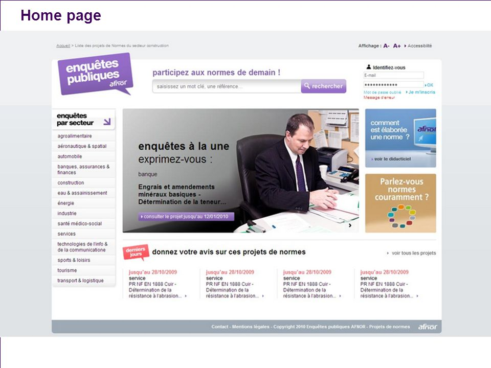 Home page A. Naël - T. Bergier