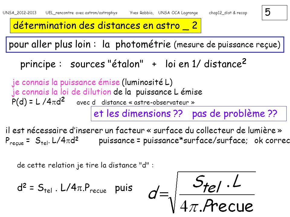 détermination des distances en astro _ 2