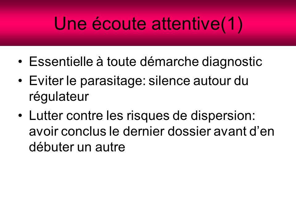 Une écoute attentive(1)