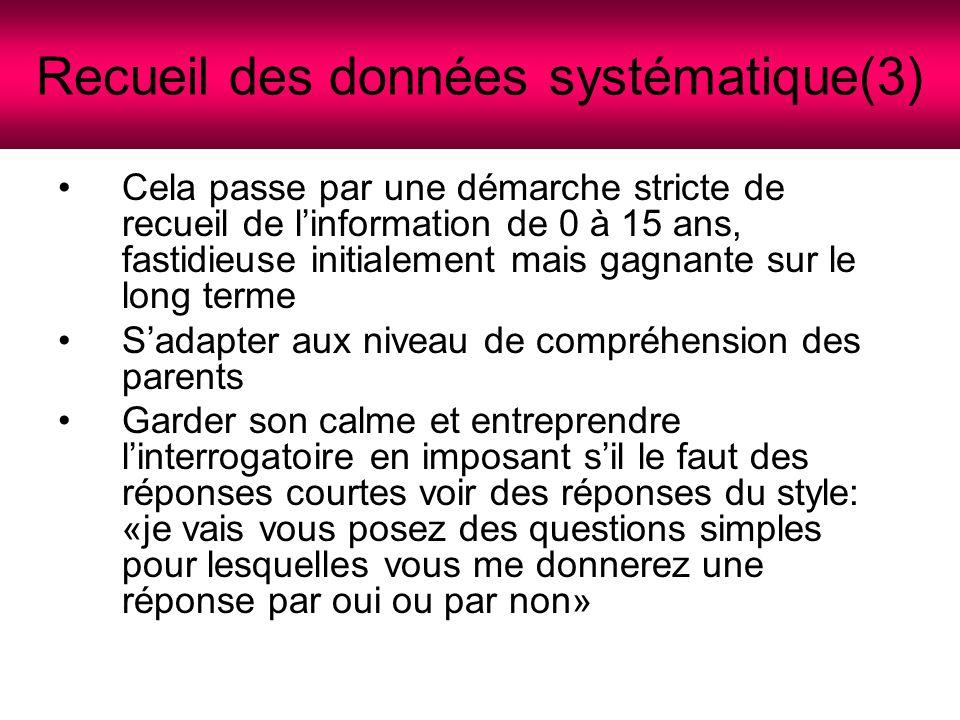Recueil des données systématique(3)