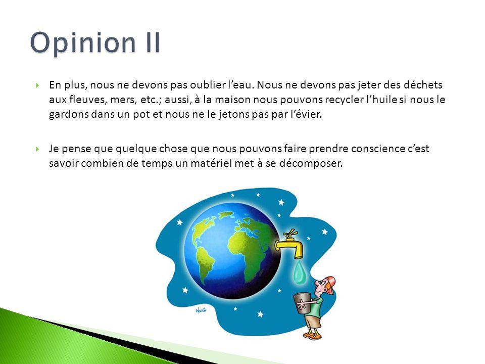 Opinion II