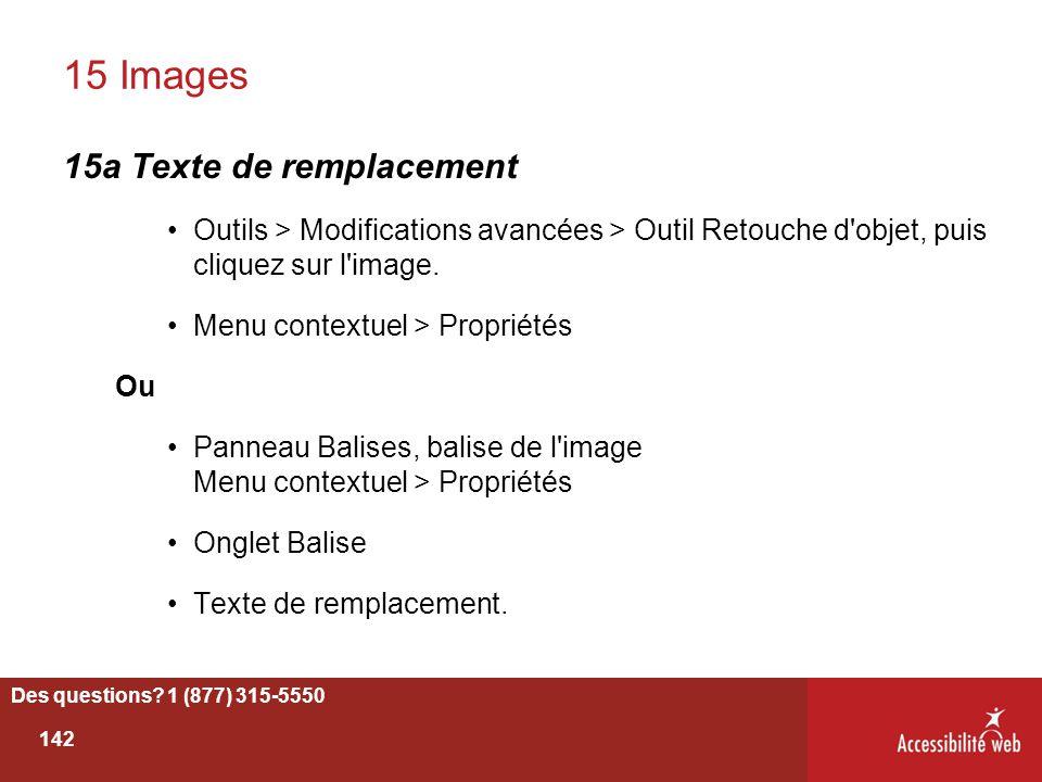 15 Images 15a Texte de remplacement