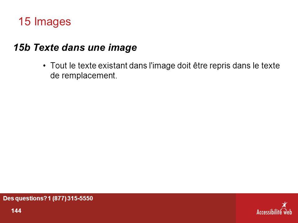 15 Images 15b Texte dans une image