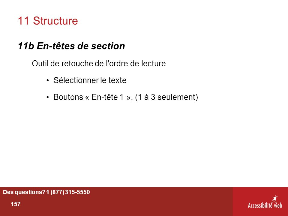 11 Structure 11b En-têtes de section