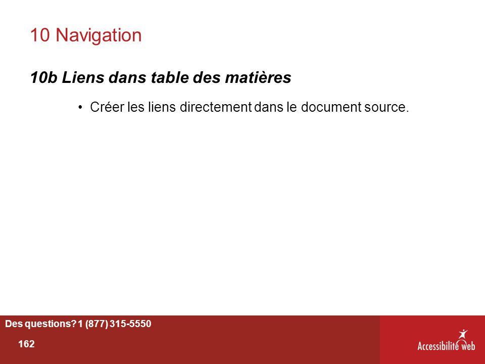 10 Navigation 10b Liens dans table des matières