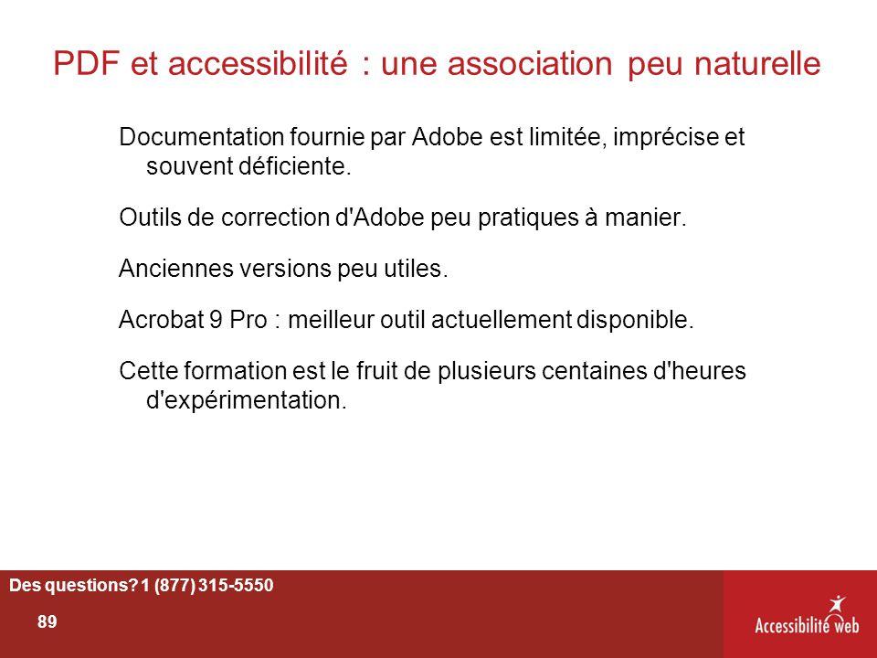PDF et accessibilité : une association peu naturelle