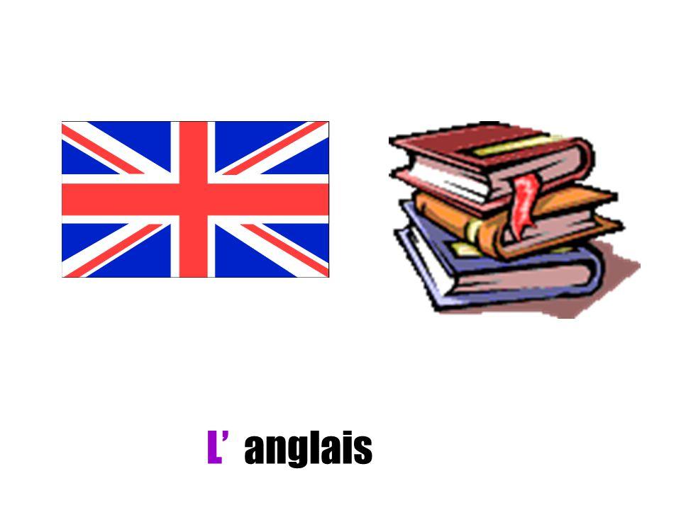 L' anglais