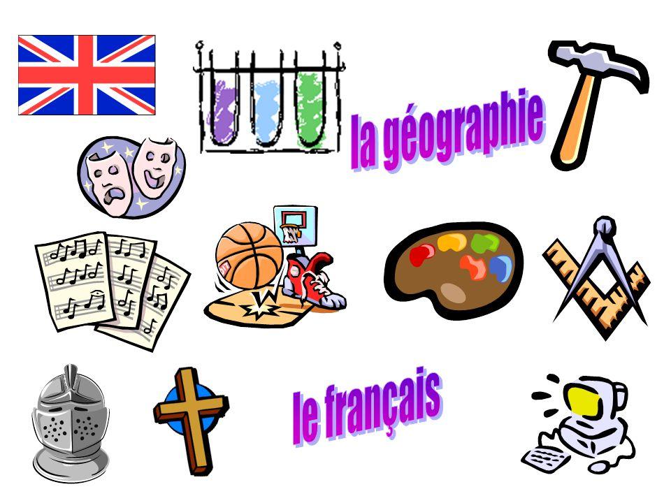 la géographie le français