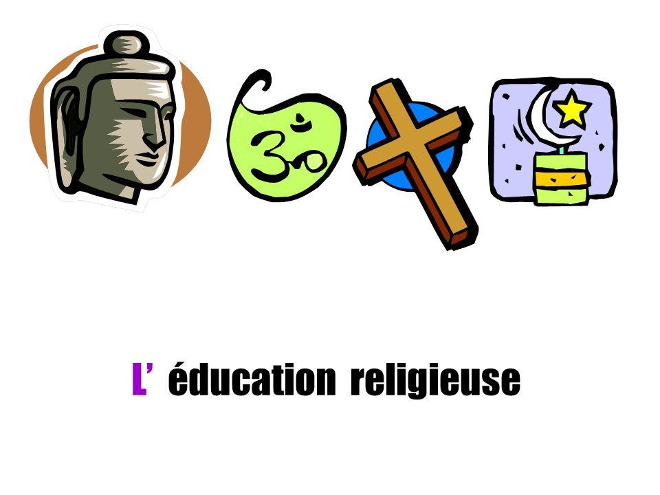 L' éducation religieuse