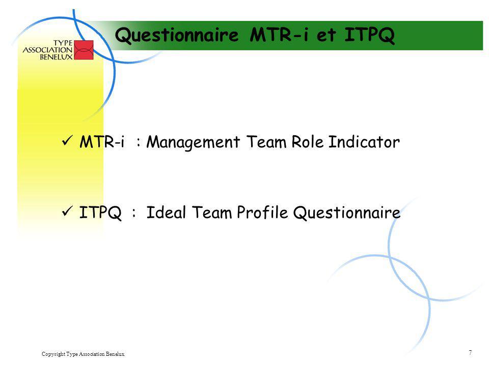 Questionnaire MTR-i et ITPQ