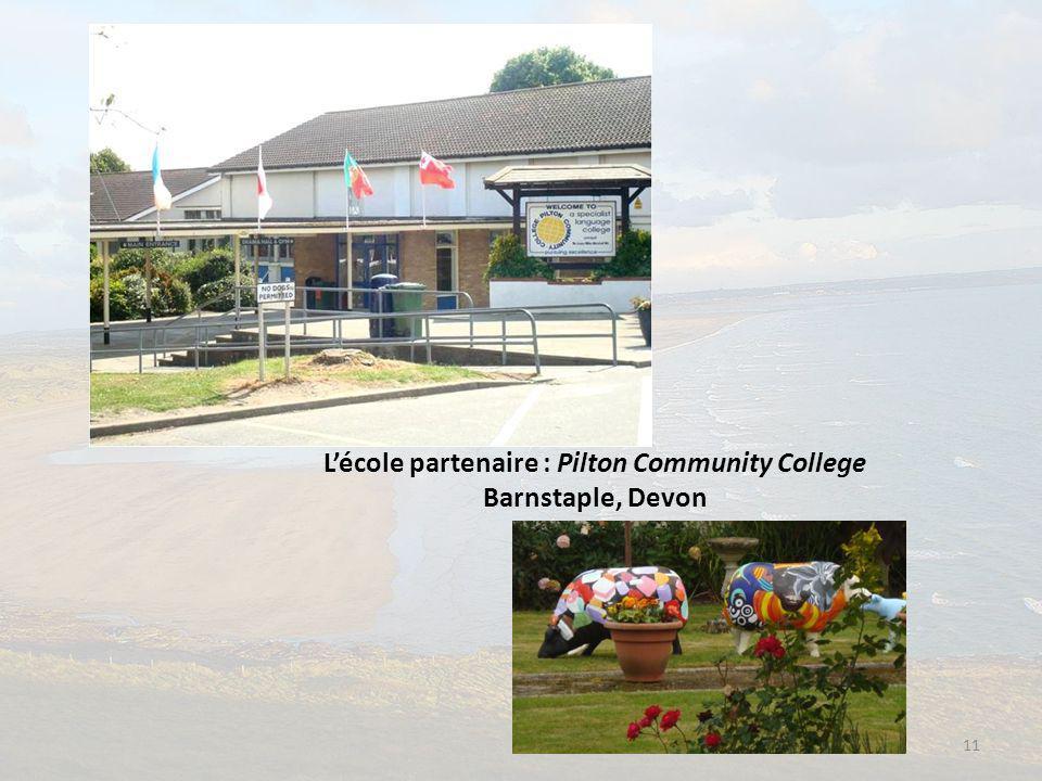 L'école partenaire : Pilton Community College