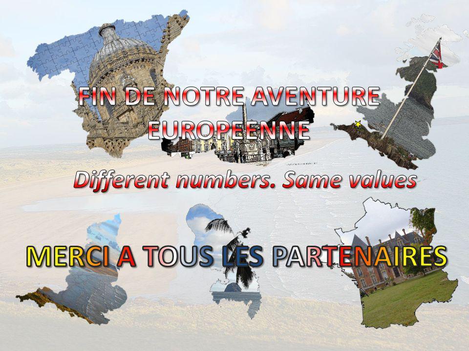 FIN DE NOTRE AVENTURE EUROPEENNE