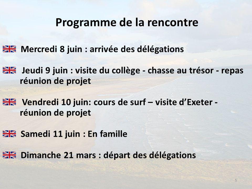 Programme de la rencontre