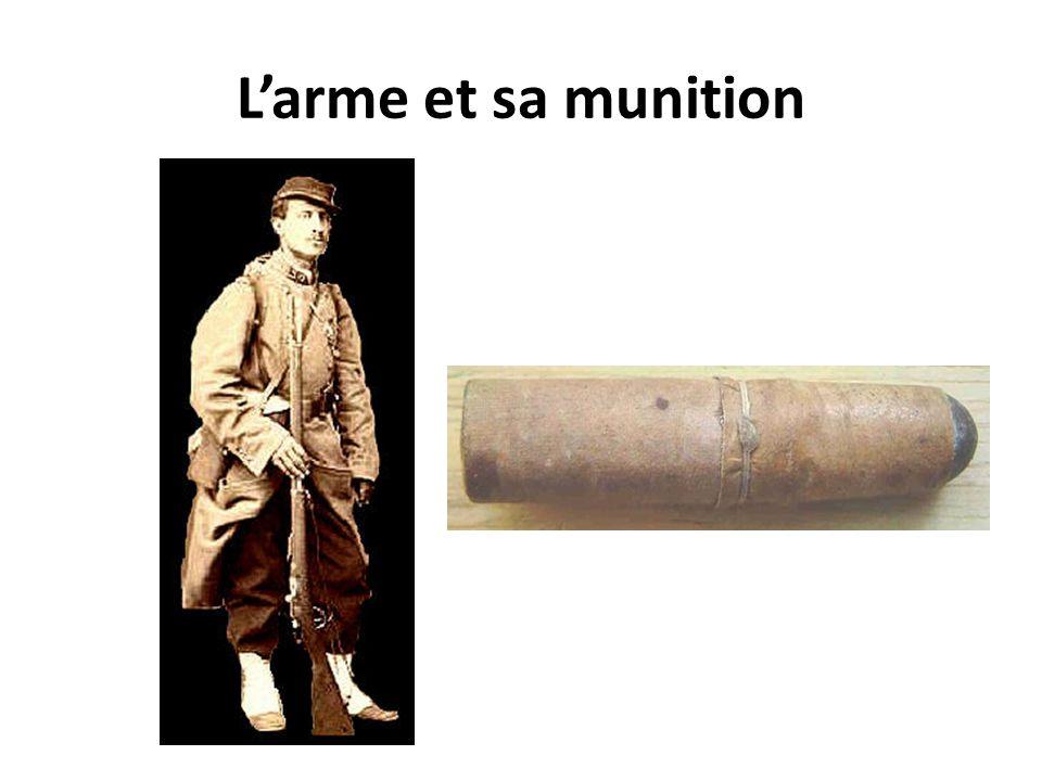 L'arme et sa munition