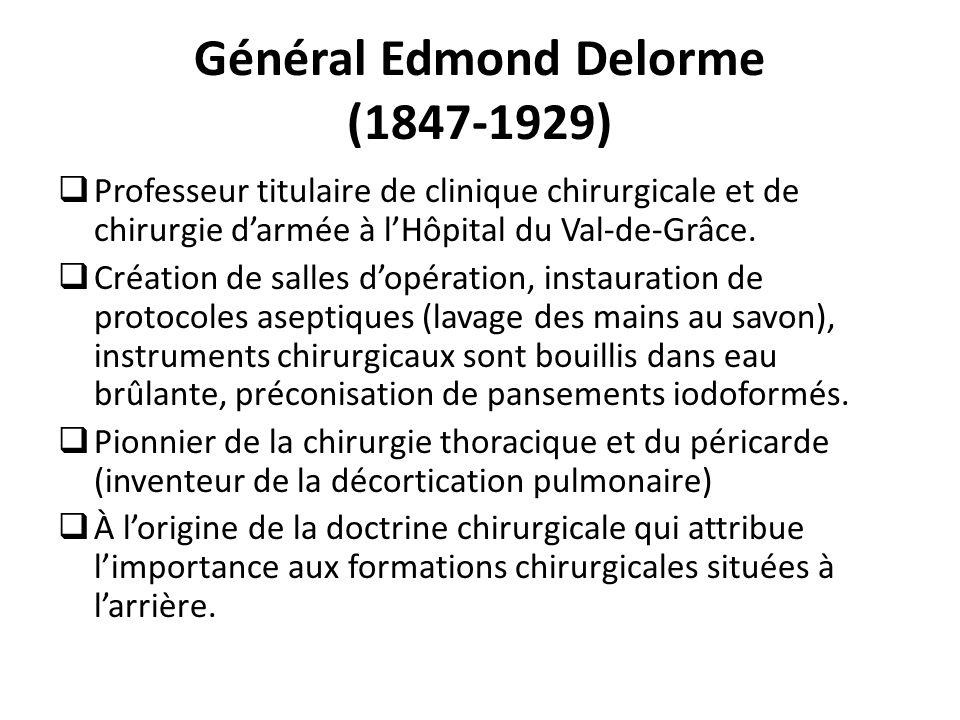 Général Edmond Delorme (1847-1929)