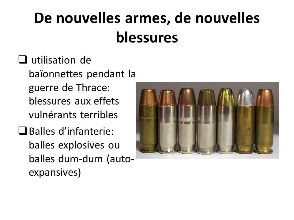 De nouvelles armes, de nouvelles blessures