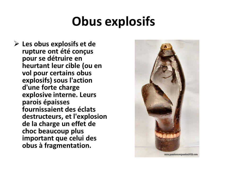 Obus explosifs