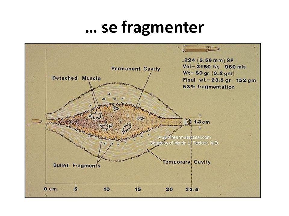 … se fragmenter