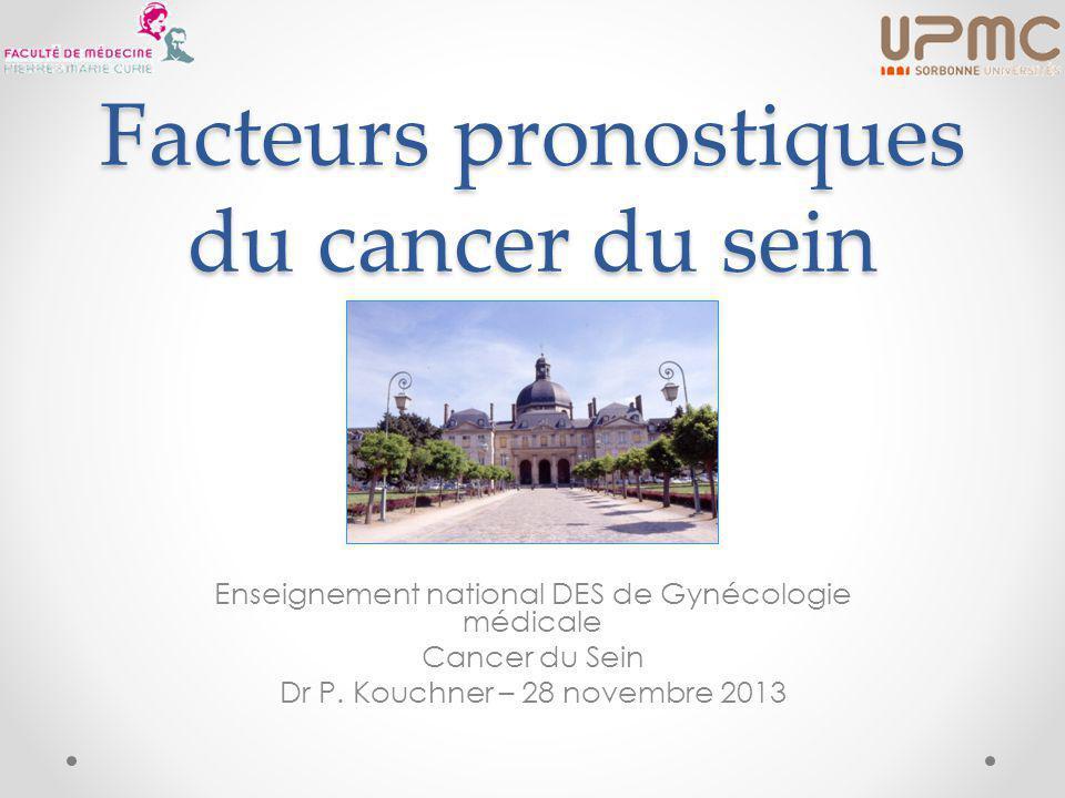 Facteurs pronostiques du cancer du sein