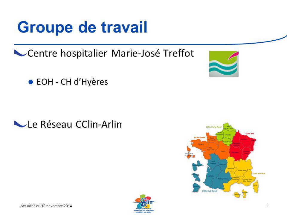 Groupe de travail Centre hospitalier Marie-José Treffot