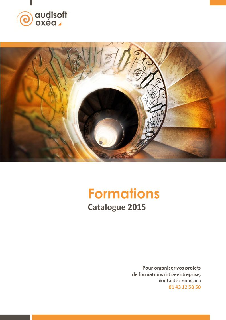 Formations Catalogue 2015 Pour organiser vos projets