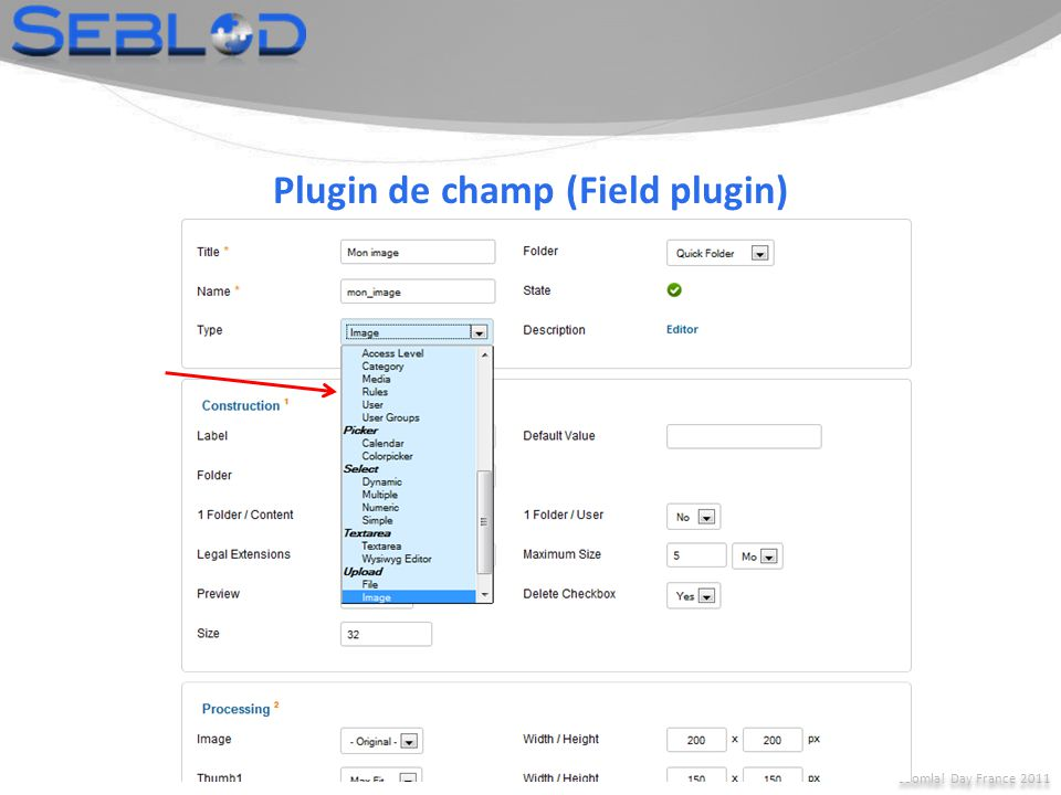Plugin de champ (Field plugin)
