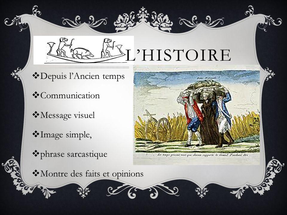 L'histoire Depuis l'Ancien temps Communication Message visuel