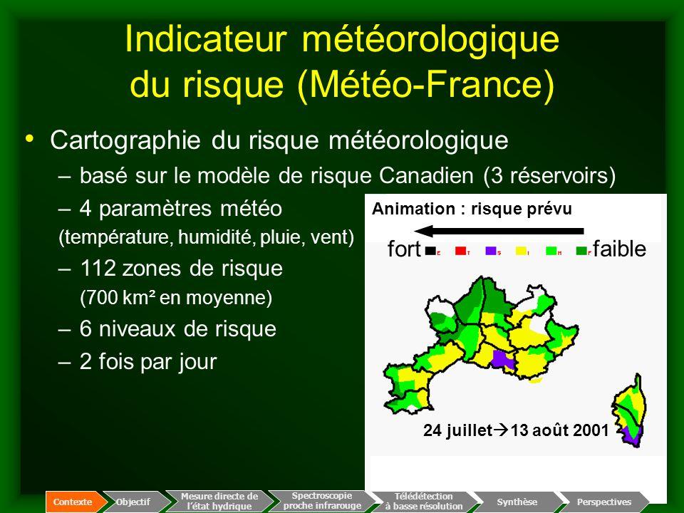 Indicateur météorologique du risque (Météo-France)