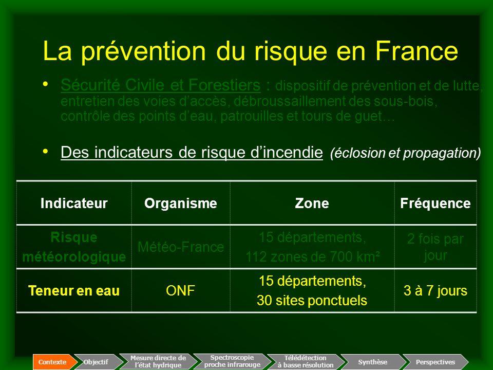 La prévention du risque en France