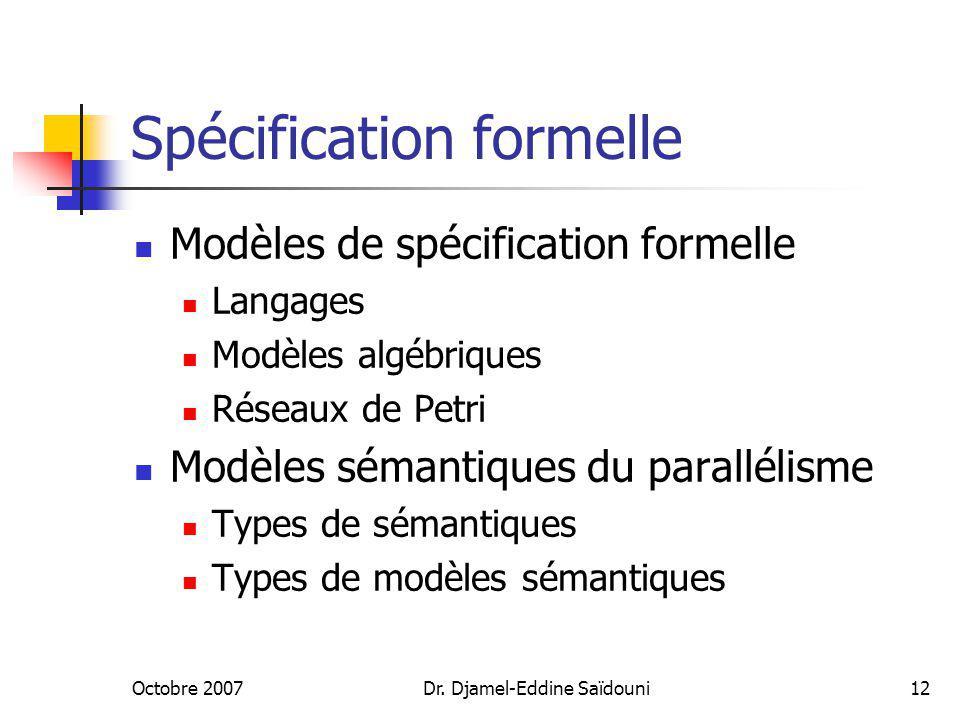 Spécification formelle