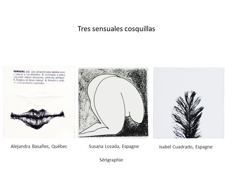 Tres sensuales cosquillas